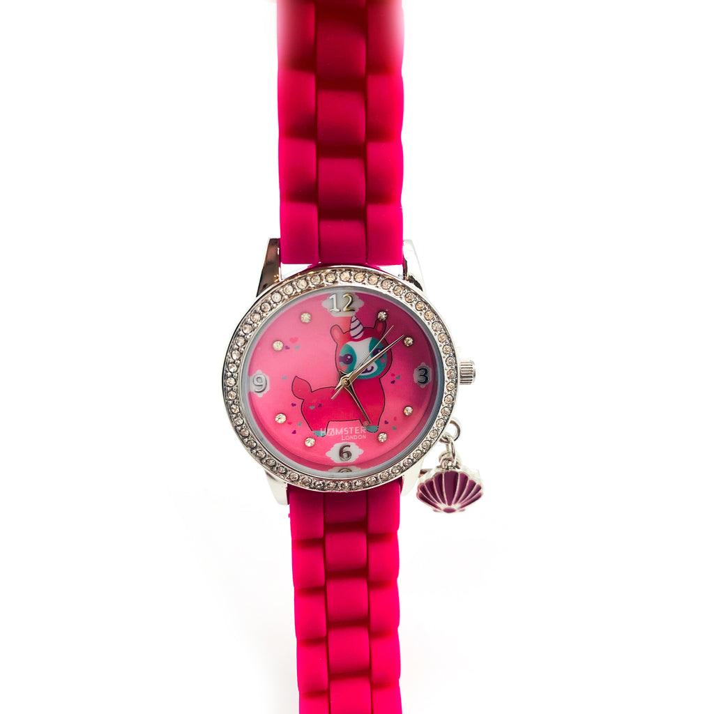 Diamond Analog Watch for Kids Lama