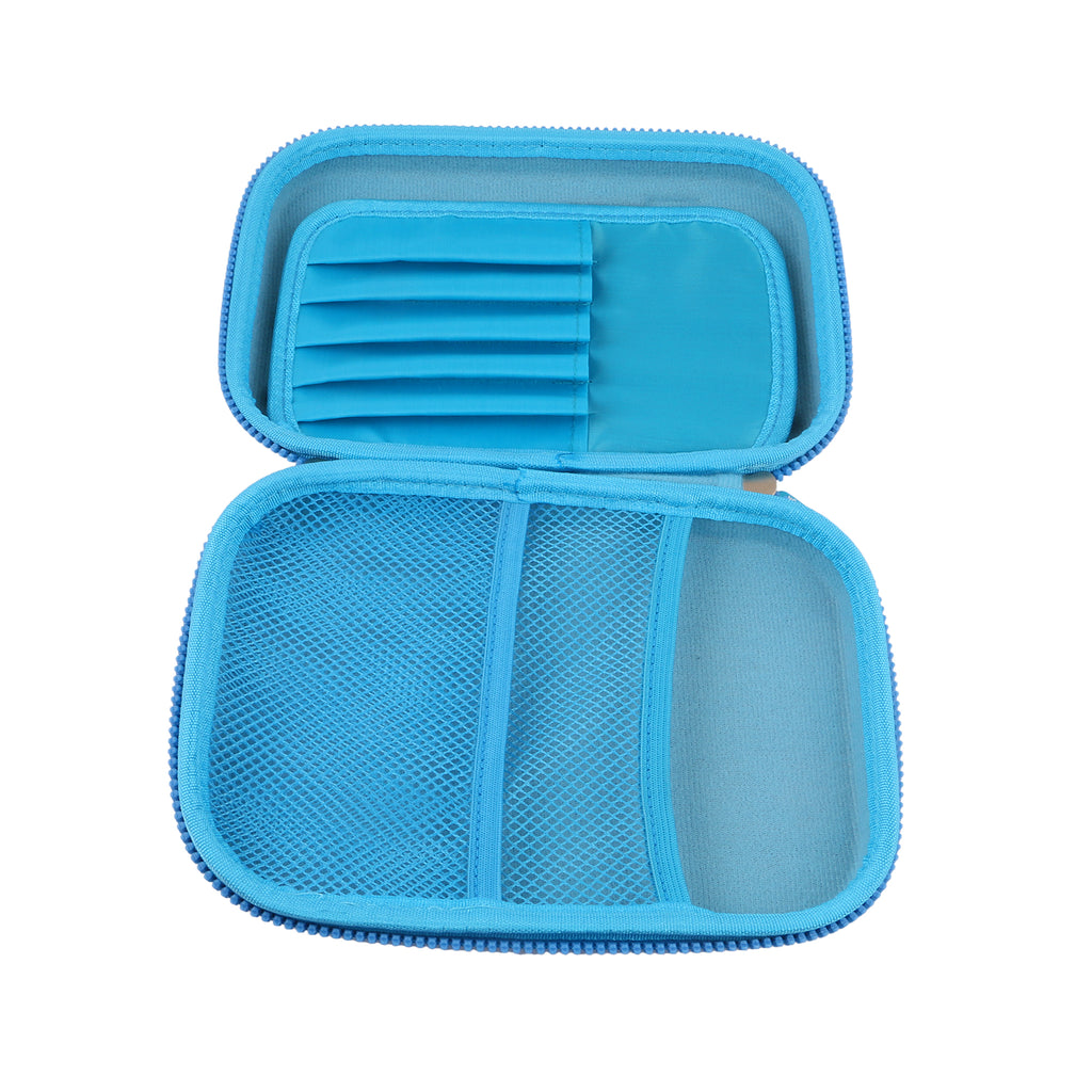 Hardtop Pencil Case Organizer Gamer Blue
