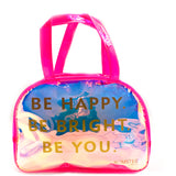 Be Happy Boston Bag Pink