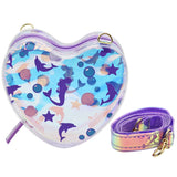 Heart Sling Bag Mermaid