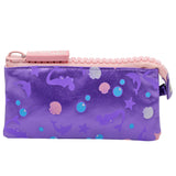 Big Zipper Pencil Case Pouch Mermaid