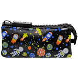 Big Zipper Pencil Case Pouch Space