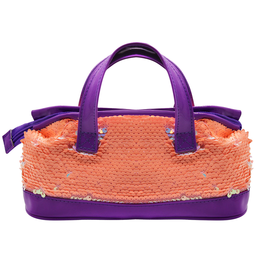 Sequence Mini Handle Bag Orange