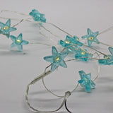 Fairy String Lights Star Green