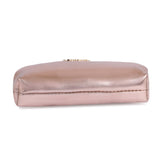 Small Gold Makeup Pouch
