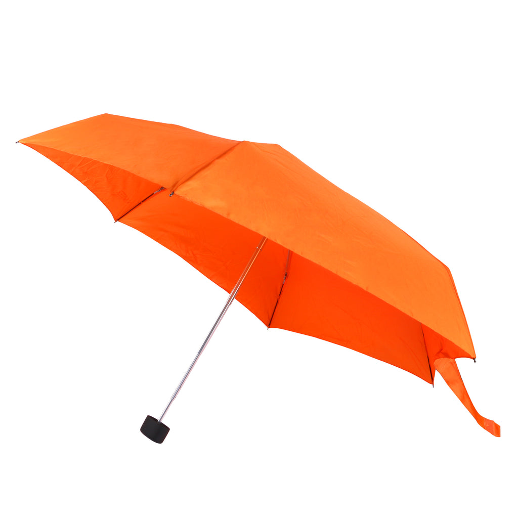 Mini Orange Umbrella with UV Coating