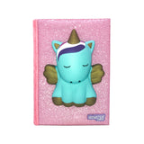 Glitter Unicorn Diary With Squishy Pen Unicorn