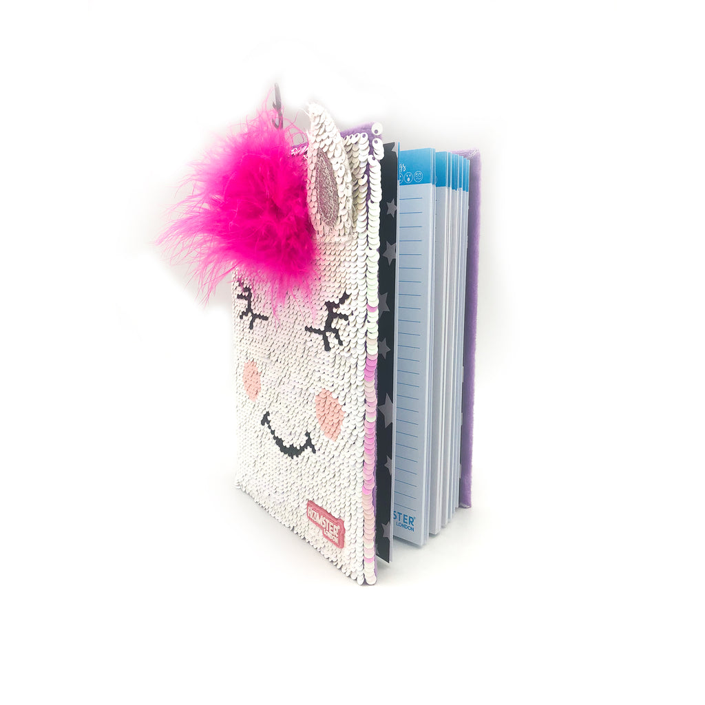 Sequence Unicorn Fur Diary With Squishy Pen Unicorn