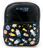 Girl's Fashion Shiny Backpack Space Small