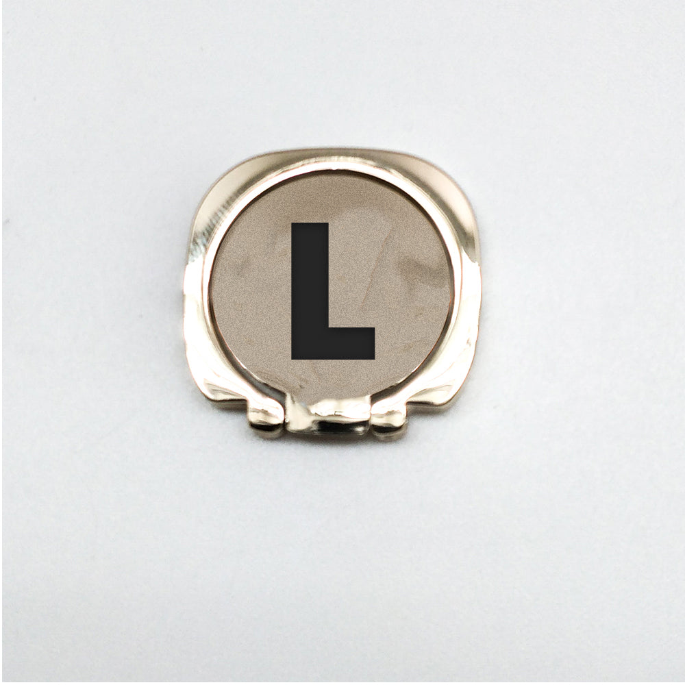 Alphabet Phone Ring (L)
