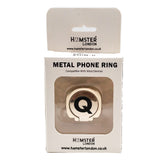 Alphabet Phone Ring (Q)