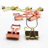 Cat Shape Paper Binder Clip