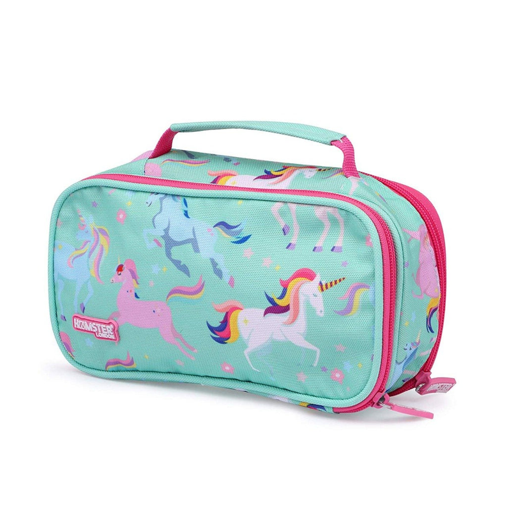 Double Zipper Pencil Case Unicorn