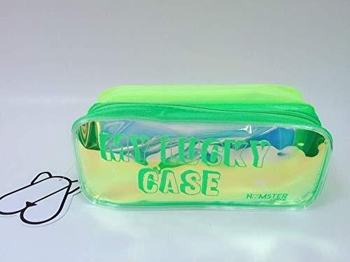 My Lucky Case Perfect Pouch For Your Accessories  Yellow And Green