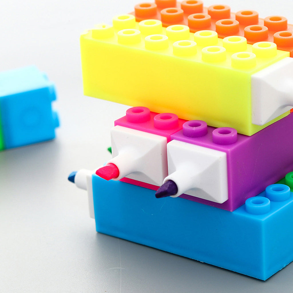 Cute Scented Blocks Highlighters