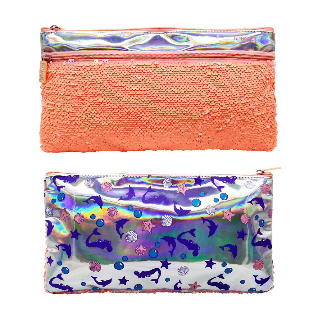 Sequence makeup Pouch Mermaid