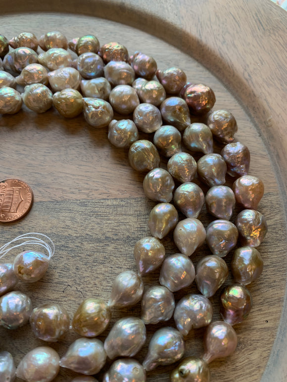 Pearls - Champagne Baroque Pearls