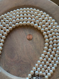 Pearls - Beautiful, Round, Natural White Pearls