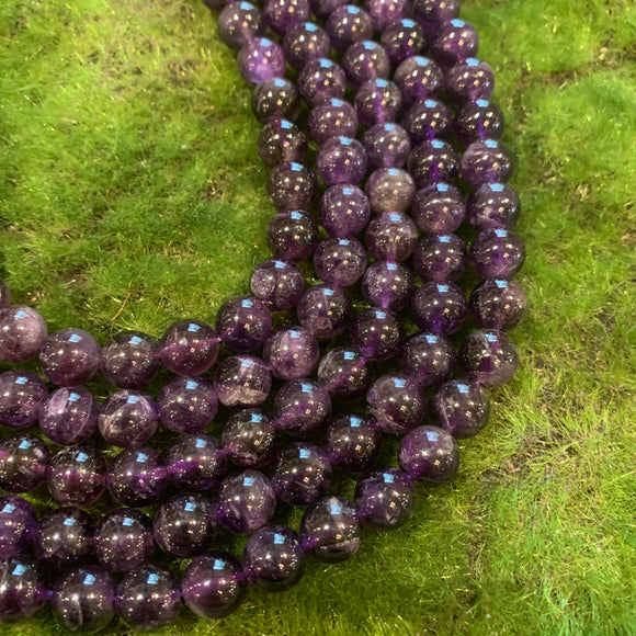 Amethyst Strands - 10mm