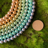 Glass Pearl Pastel Rainbow Set - 8mm