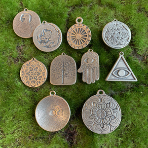 Assorted Pewter Charms