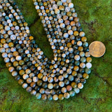 Ocean Jasper Strands - AAA Quality Stone Rounds