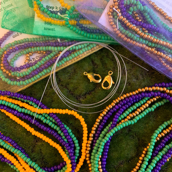 Mardi Gras Mask Holder Kits