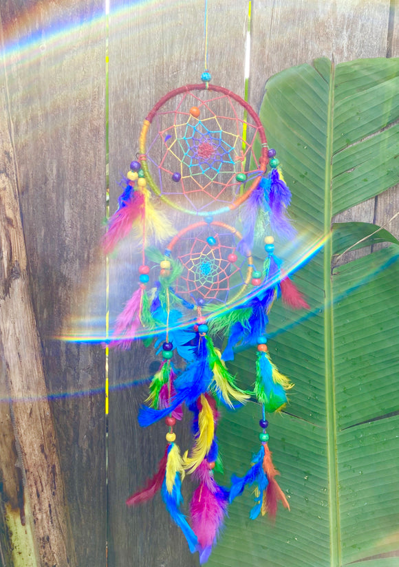 Double Dancing Dream Catcher