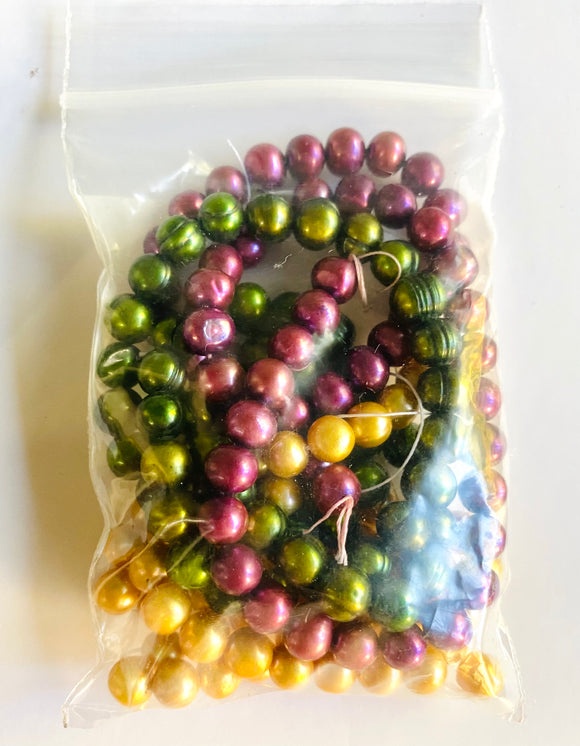 Bag of Pearls: Mardi Gras Colors
