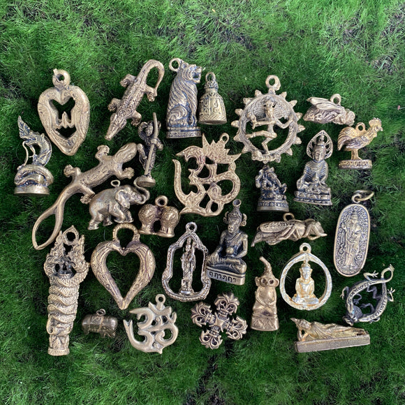 Thai Brass Pendants