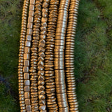 Brass Spacer Bead Strands