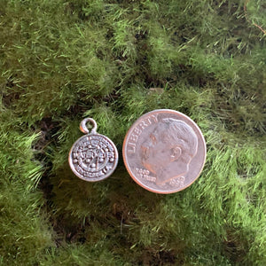 Sterling Silver Water Meter Charms and Earrings