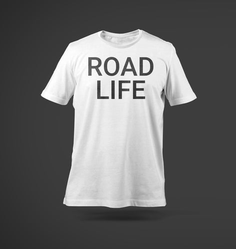 Road Life T-Shirt White