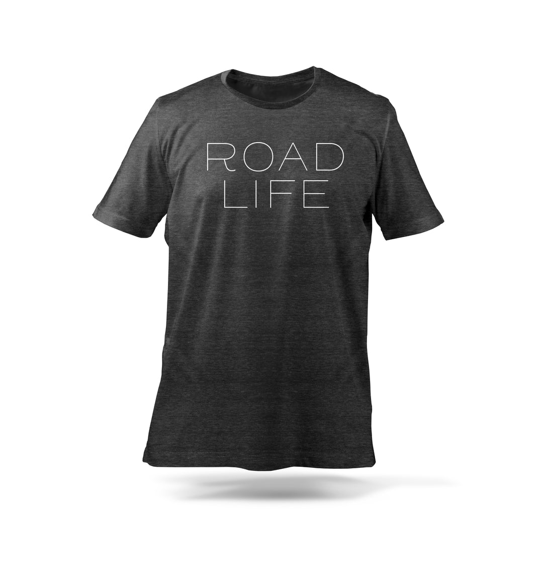 Road Life T-Shirt Black
