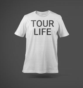 Tour Life T-Shirt White