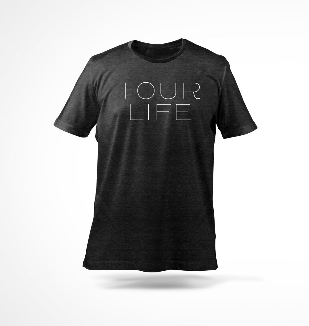 Tour Life T-Shirt Black
