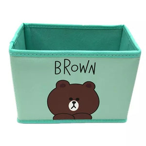 Brown Storage Container