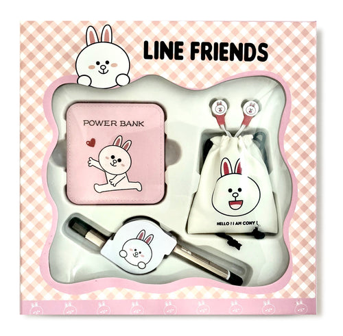 Cony Power Bank Gift Set