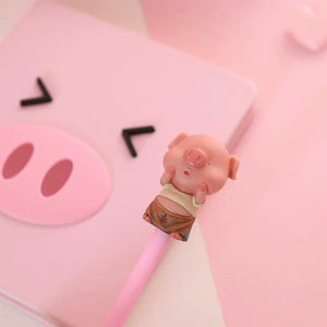 Pink Pig Notebook Set - B style