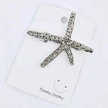 Load image into Gallery viewer, Starfish Hair Clip