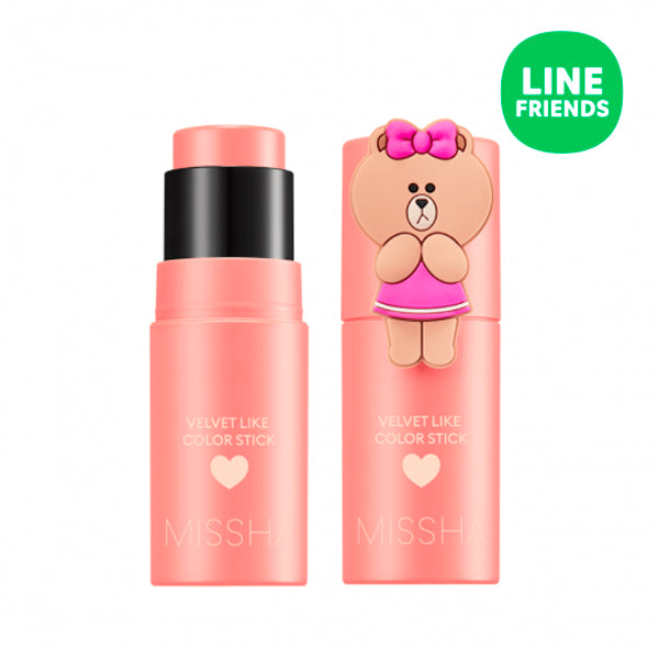 Velvet Like Color Stick (MISSHA X LINE FRIENDS Edition)