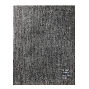Grey Chalkboard Notebook