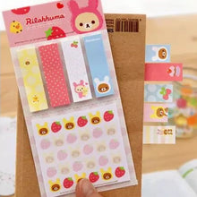 Load image into Gallery viewer, Rilakkuma Memo-001