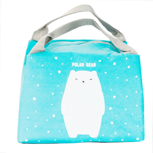 Blue Polar Bear Lunchbox
