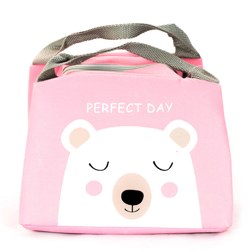 Pink Polar Bear Lunchbox