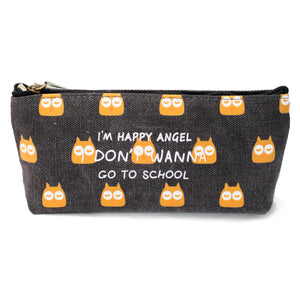 Owl Pattern Pencil Case