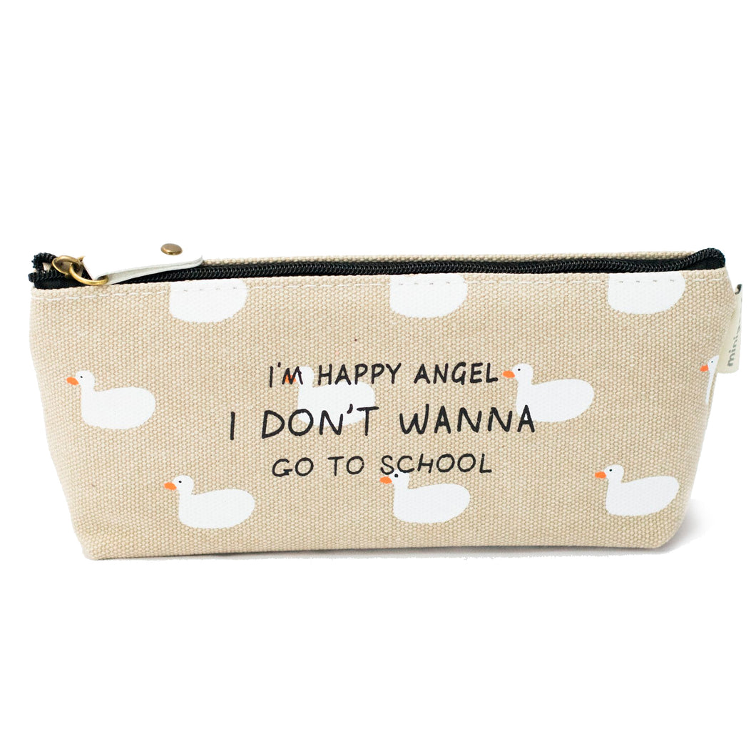 Duck Pattern Pencil Case