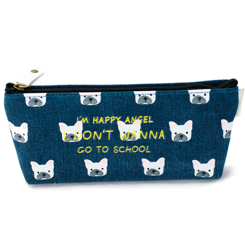 Dog Pattern Pencil Case