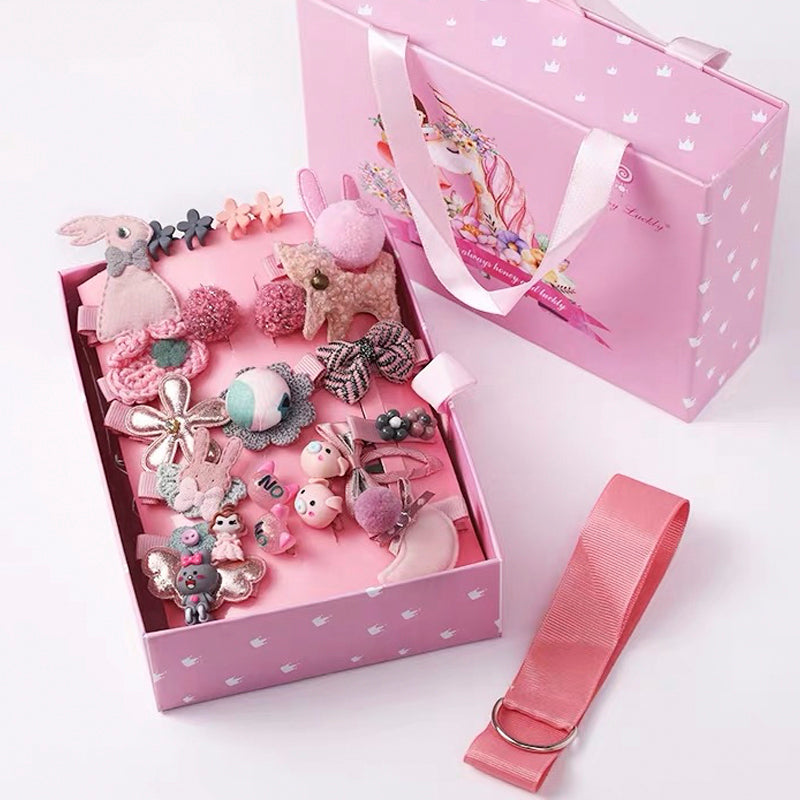 Kids Hair Clips Gift Box C