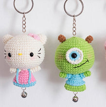Load image into Gallery viewer, Little Doll Keychain DIY 1 Pc ( Ages 16+)